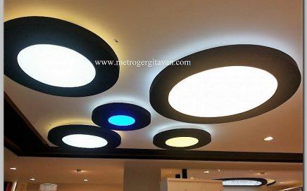 Modüler Sistem (Portatif) Gergi Tavanlar