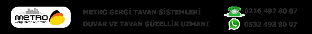 Metro Gergi Tavan Sistemleri Logo